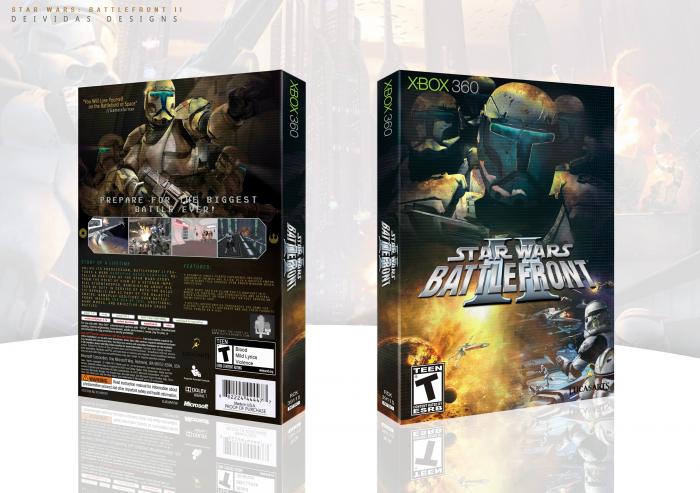 Star Wars Battlefront Ii Xbox 360 Box Art Cover By Deividas