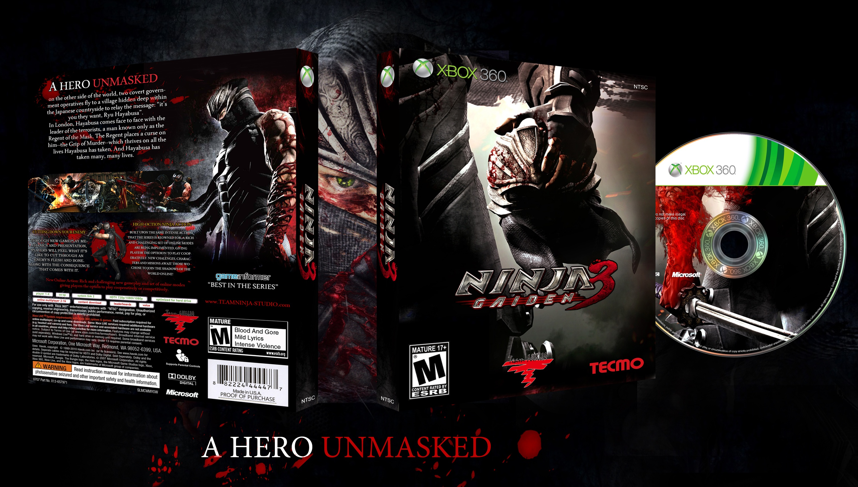 Ninja Gaiden 3 Xbox 360 Box Art Cover By Zalayetta