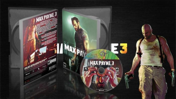Max Payne 3 Xbox 360 Box Art Cover By Amia