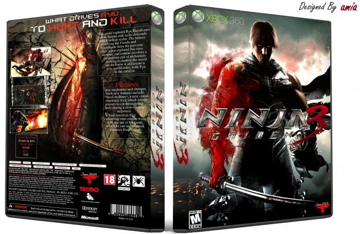 Ninja Gaiden 3 Xbox 360 Box Art Cover By Amia