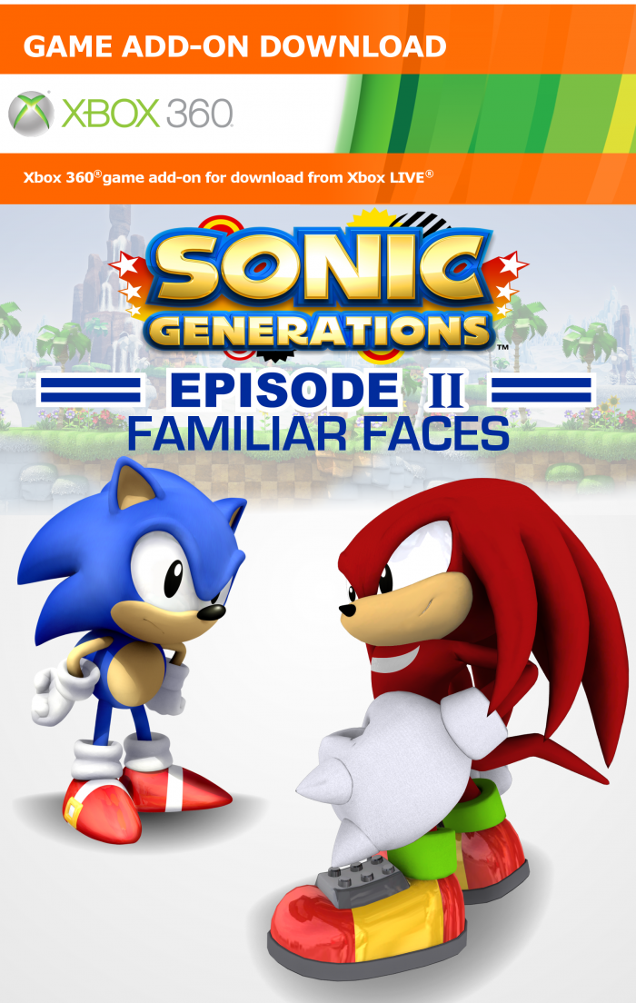 Sonic Generations Episode 2 Xbox 360 Box Art Cover by ...
