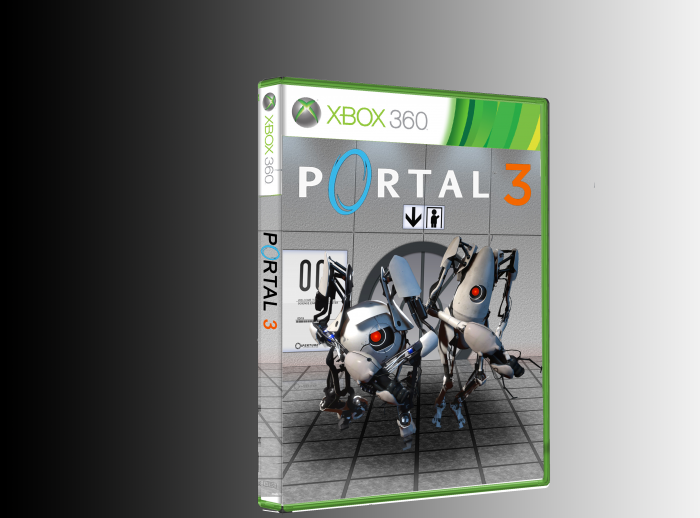 Portal 3 Xbox 360 Box Art Cover By Urbancanine13