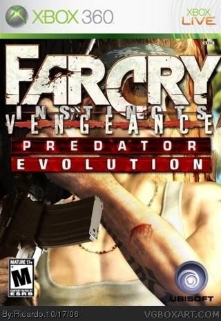 Far Cry Instincts Vengeance Predator Evolution Xbox 360 Box Art Cover By Ricardo