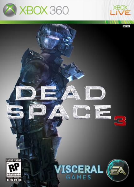 Dead Space 3 Xbox 360 Box Art Cover By Danidb17