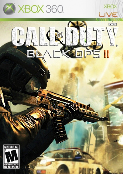 Call of Duty: Black Ops 2 Xbox 360 Box Art Cover by Swag