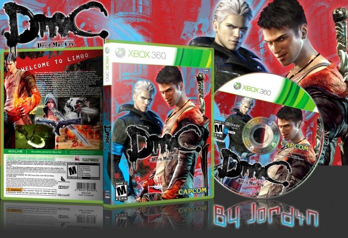 New Playstation 5 >> DmC: Devil May Cry Xbox 360 Box Art Cover by J0rd4n