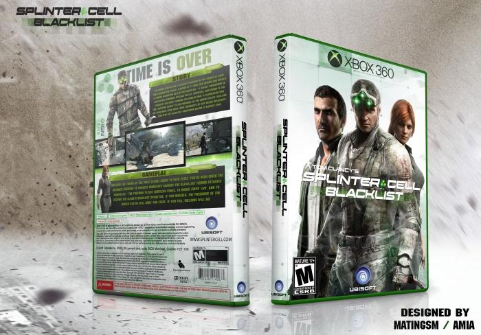Tom Clancy S Splinter Cell Blacklist Xbox 360 Box Art