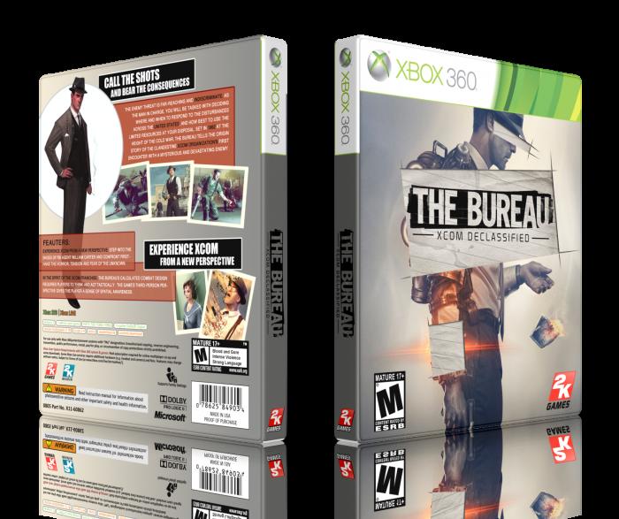 The bureau xcom declassified xbox 360 box art cover by for Bureau xcom declassified