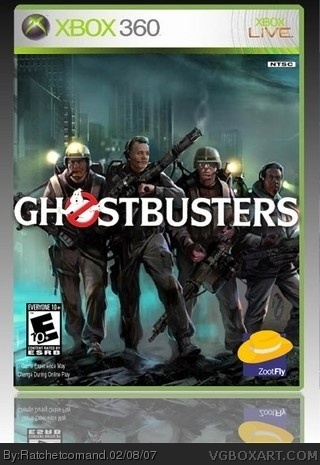 Ghostbusters box cover