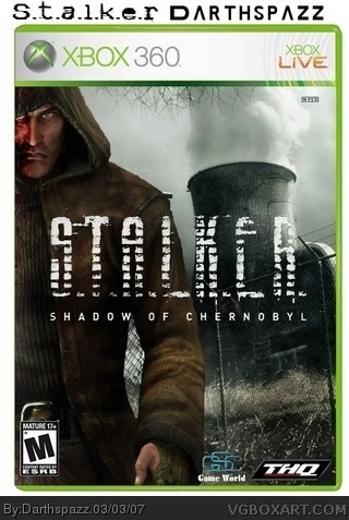 S.T.A.L.K.E.R. Shadow Of Chernobyl box cover