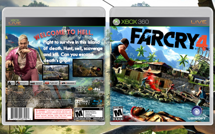 Far Cry 4 Xbox 360 Box Art Cover By Rolyat