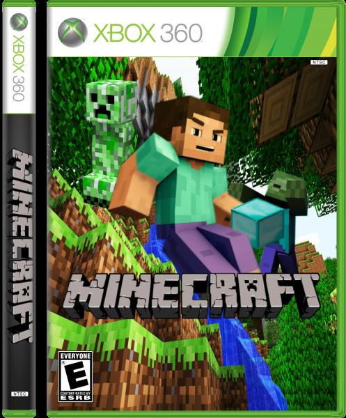 Xbox 360 Minecraft Cover Minecraft Xbox 360 Box...