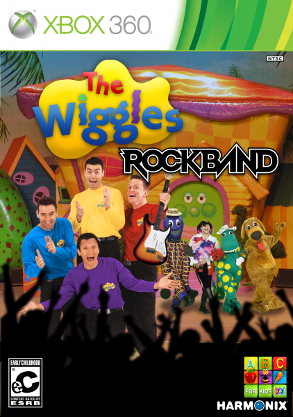 Rock Band: The Wiggles Xbox 360 Box Art Cover by Spoon