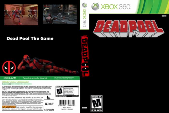 Deadpool The Game Xbox 360 Box Art Cover By Goldfishtiger
