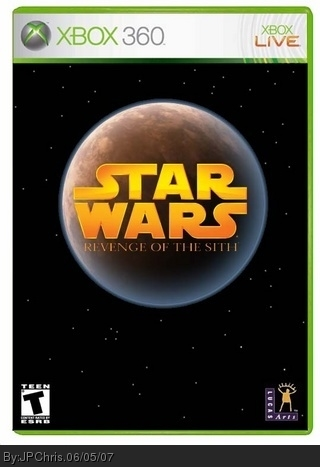 Star Wars Revenge Of The Sith Xbox 360 Box Art Cover By Jpchris