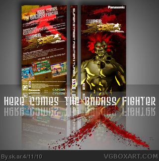 street fighter 2 turbo box art