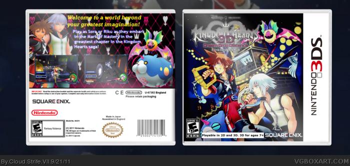 Kingdom Hearts 3d Dream Drop Distance Nintendo 3ds Box