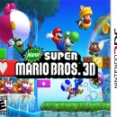 New Super Mario Bros. 3D Box Art Cover