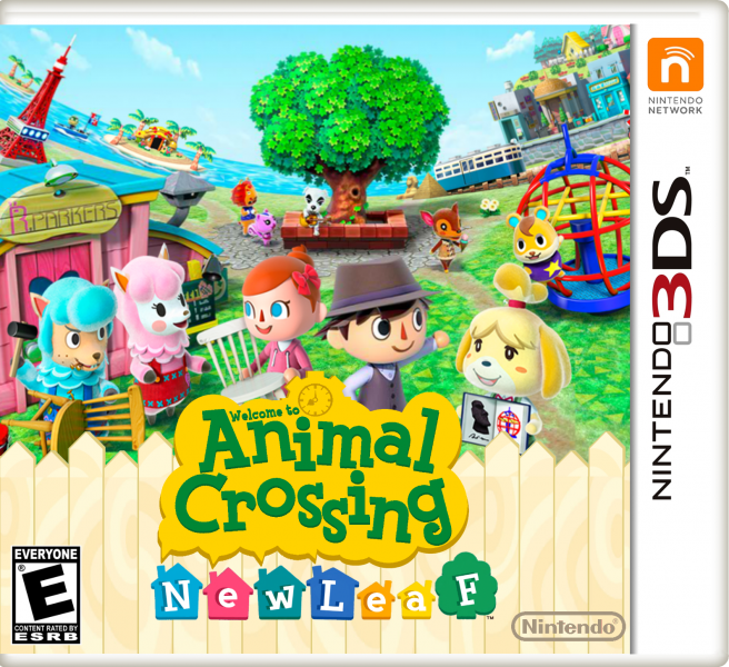 Animal Crossing: New Leaf box art cover