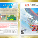The Legend of Zelda: Skyward Sword 3D Box Art Cover
