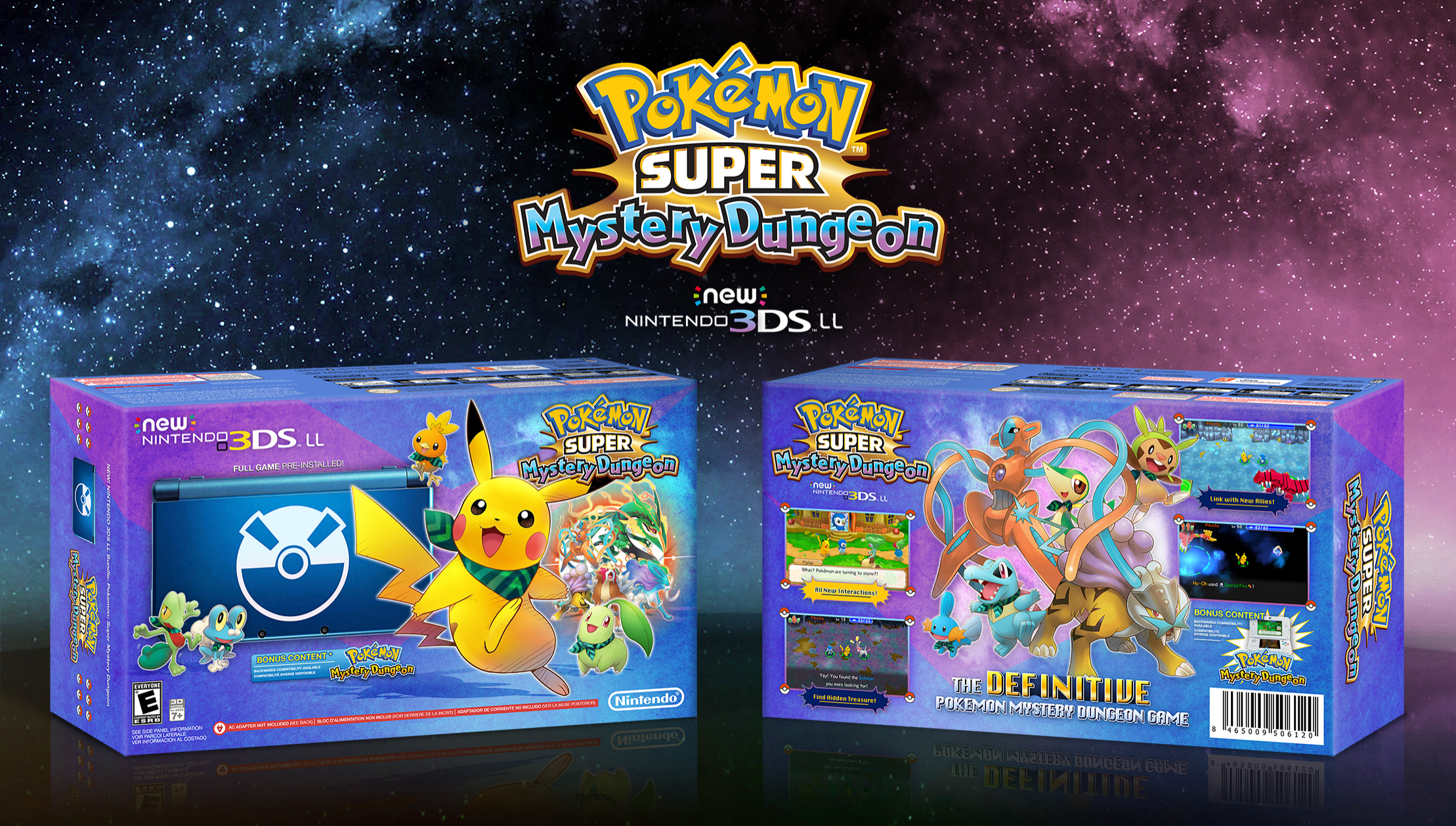 Viewing Full Size Pokemon Super Mystery Dungeon Bundle Box Cover