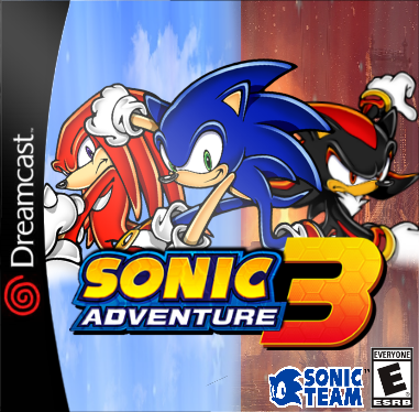 Sonic Adventure 3 Dreamcast Box Art Cover by sonidelta