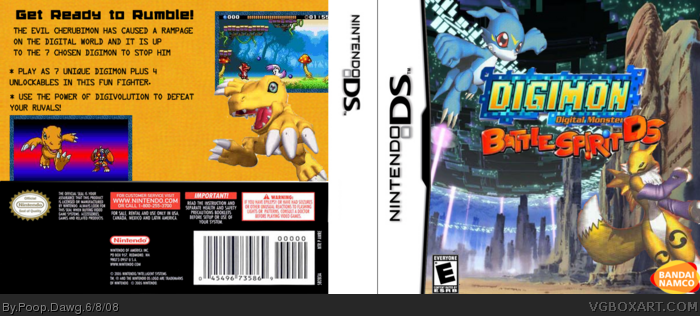 Digimon Battle Spirit box art cover