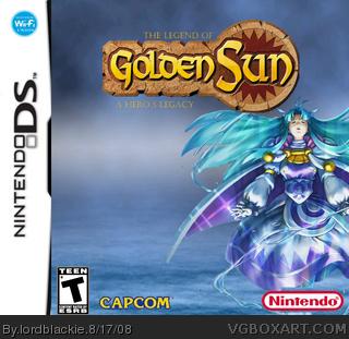 The Legend of Golden Sun: A Hero's Legacy Nintendo DS Box