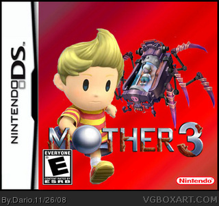 Mother 3 Nintendo DS Box Art Cover by Dario