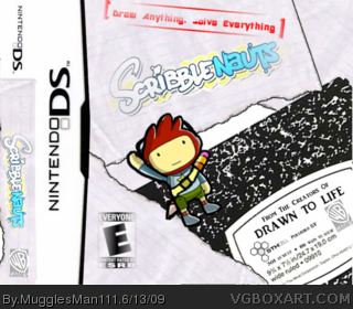 Scribblenauts box art cover