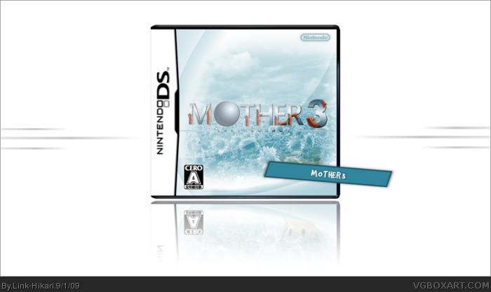 Mother 3 Nintendo DS Box Art Cover by Link-Hikari