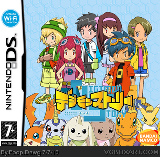 Digimon Story: Lost Evolution Nintendo DS Box Art Cover by