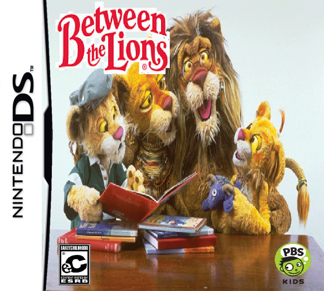 Between The Lions Nintendo Ds Box Art Cover By Timzuneeverse