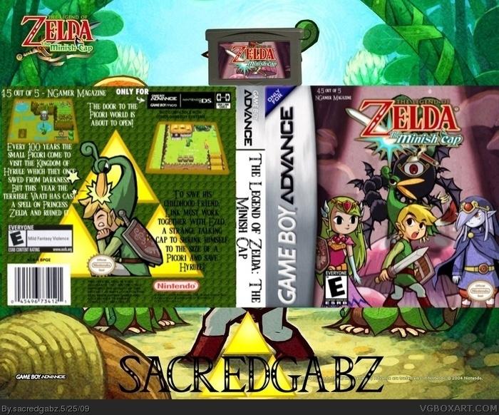 descargar the legend of zelda minish cap para gba español