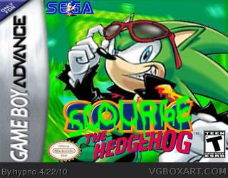 scourge the hedgehog game boy advance box art cover by hypno bad boy login bad boy login