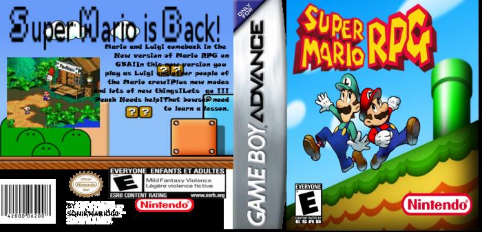 Super Mario RPG Game Boy Advance Box Art Cover by SonikMario00