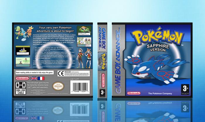 pokemon sapphire version - 700×415
