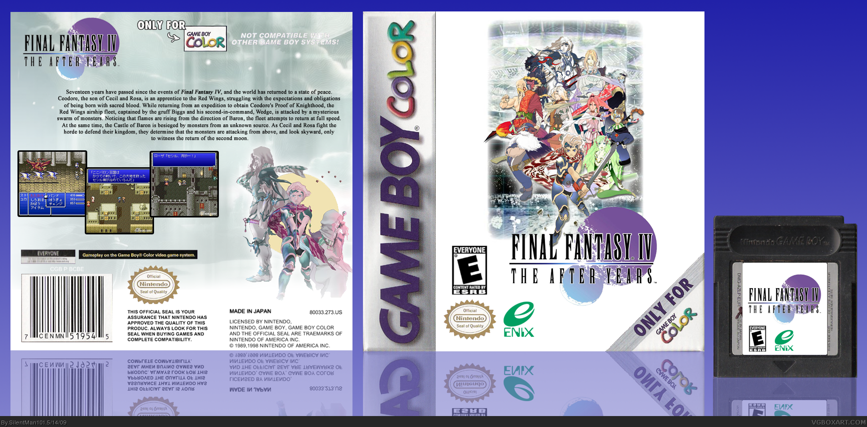 Final Fantasy IV: The After Years box cover