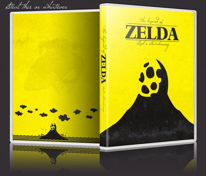 The Legend Of Zelda Link S Awakening Game Boy Color Box Art