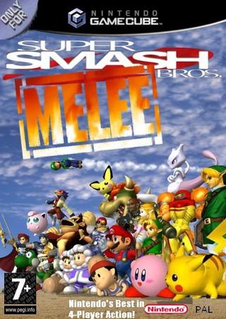 super smash bros melee for game cube