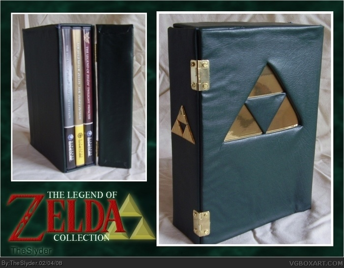 The Legend Of Zelda Collection Gamecube Box Art Cover By