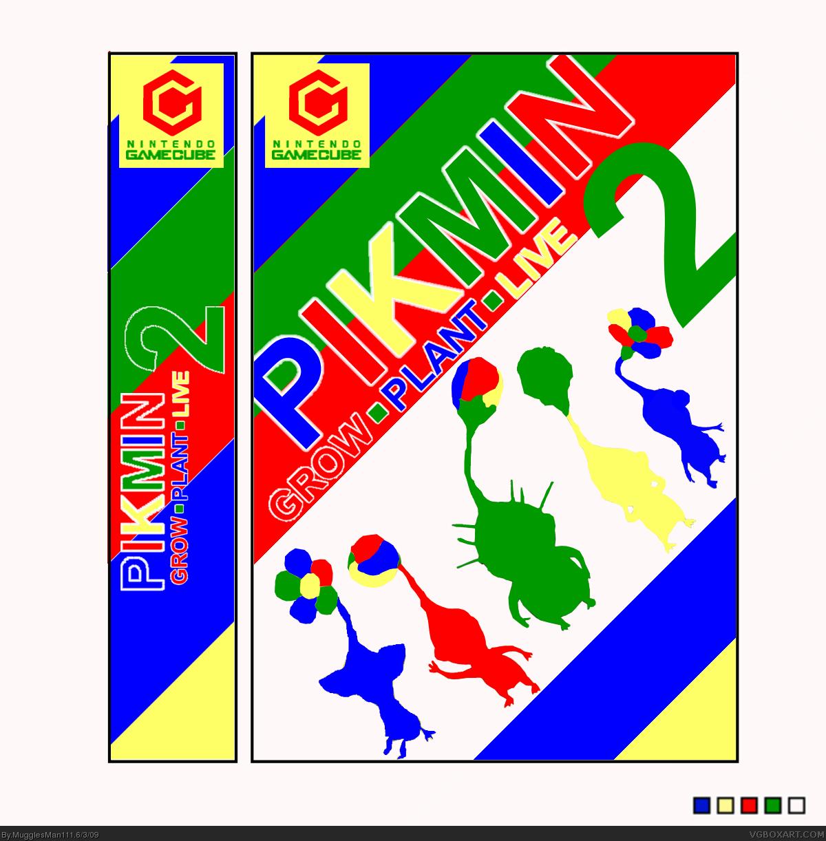 Pikmin 2 Gamecube Box Art Cover By Mugglesman111