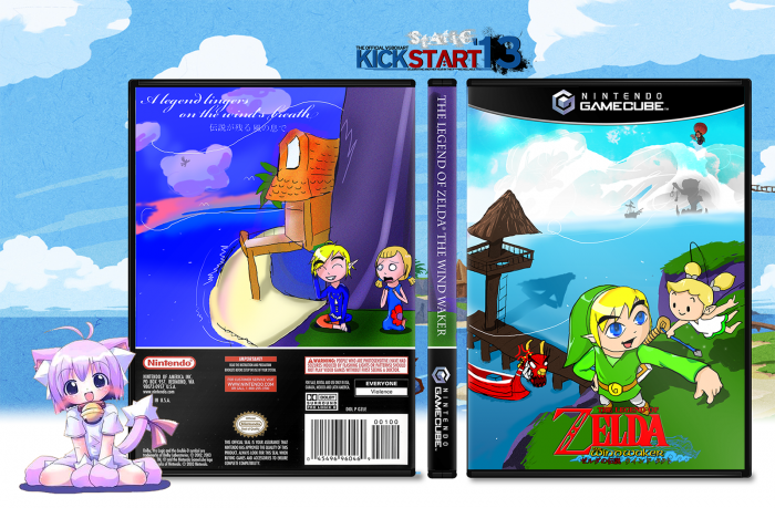 Gamecube Box Art Wind Waker Box Art Cover