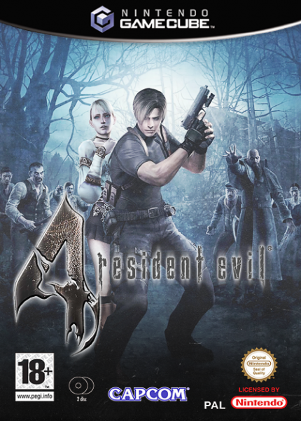 Resident Evil 4 Gamecube Box Art Cover By Donnie
