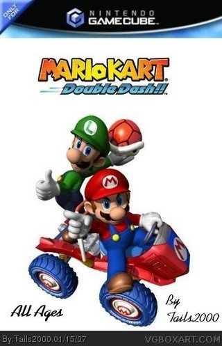 Mario Kart Double Dash Gamecube Box Art Cover By Tails2000