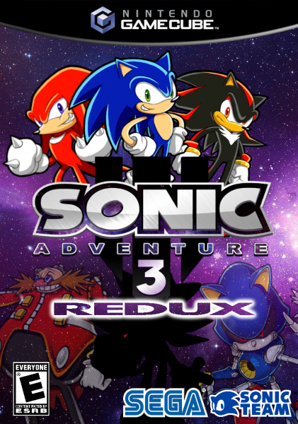 Sonic Adventure 3: Redux GameCube Box Art Cover by sonidelta