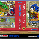 Sonic RPG Box Art Cover