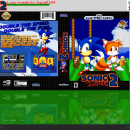 Sonic the Hedgehog: 2 Box Art Cover