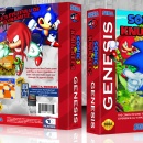 Sonic The Hedgehog 3 & Knuckles Box Art Cover