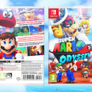 Super Mario Odyssey Box Art Cover